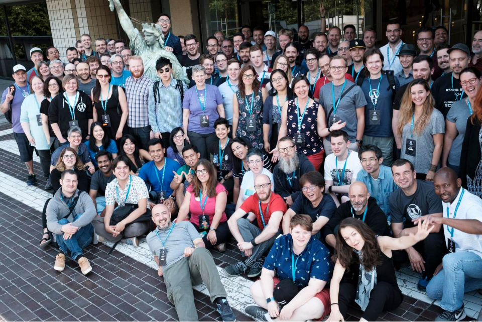 Attendees of the 2017 WordPress Community Summit