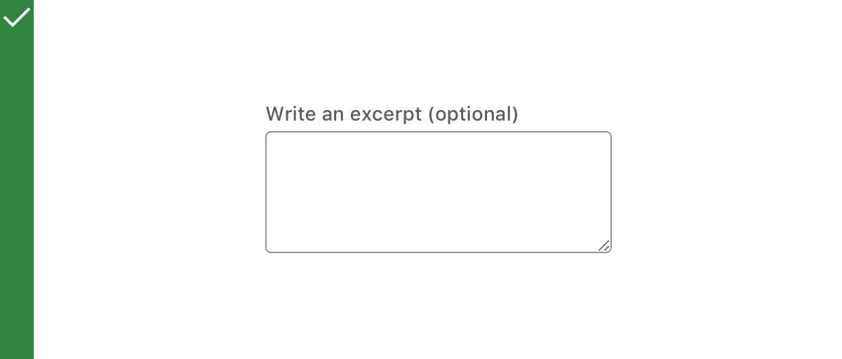 TextareaControl | Block Editor Handbook | WordPress