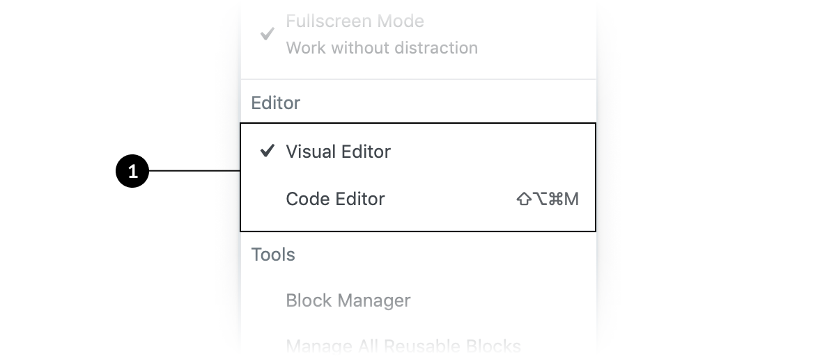 MenuItemsChoice | Block Editor Handbook | WordPress