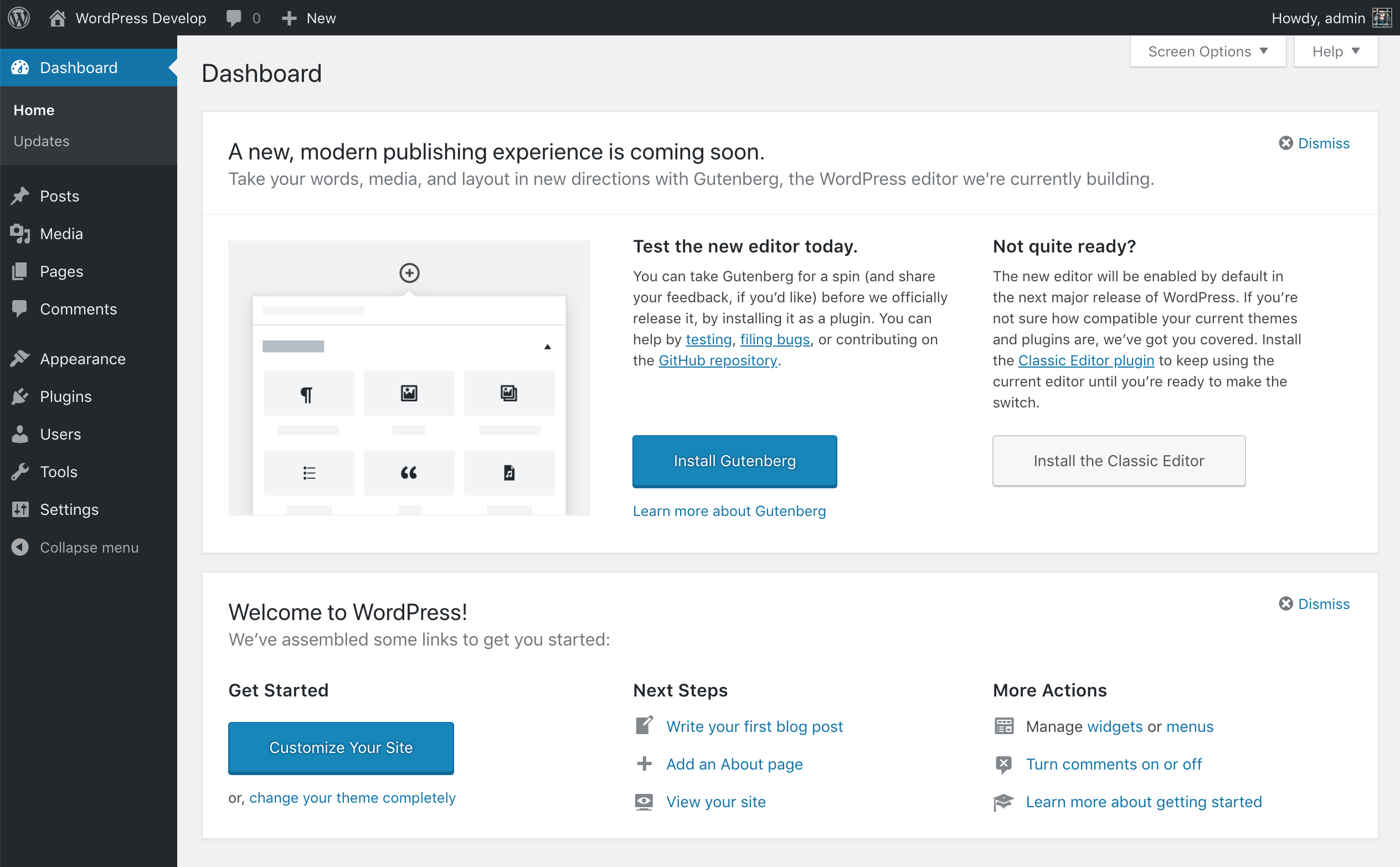 wordpress 4.9.8