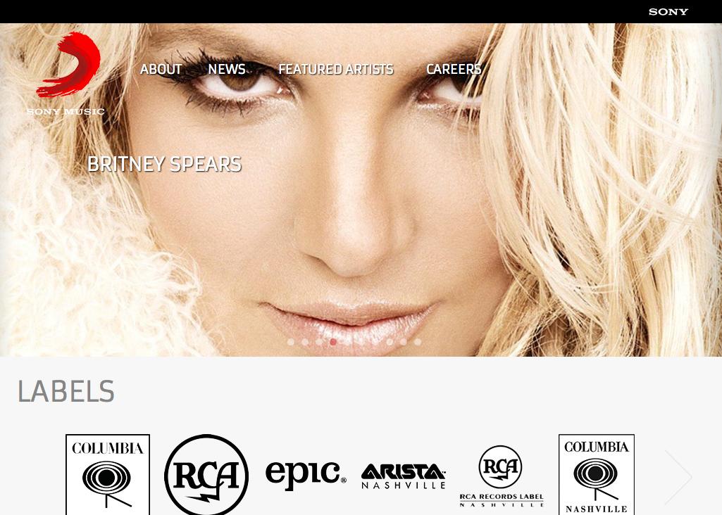 Sony Music Showcase | WordPress org