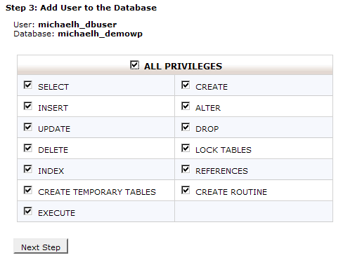 Step 3. Add User to Database